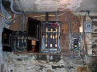 Residential - Electrical Renovation & Installation of Sub-Panel - Before