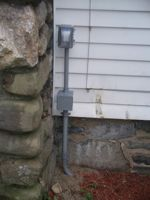 Residential - Outside Receptacle Installation