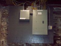 Residential - Electrical Renovation & Installation of Sub-Panel - After