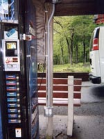 Outdoor Receptacles for Commercial Vending Machines